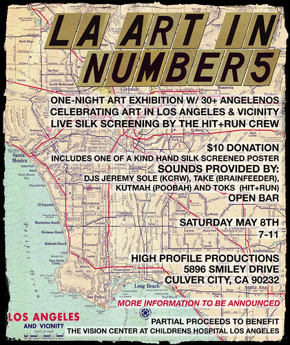 LA Art In Numbers May 8th 2010