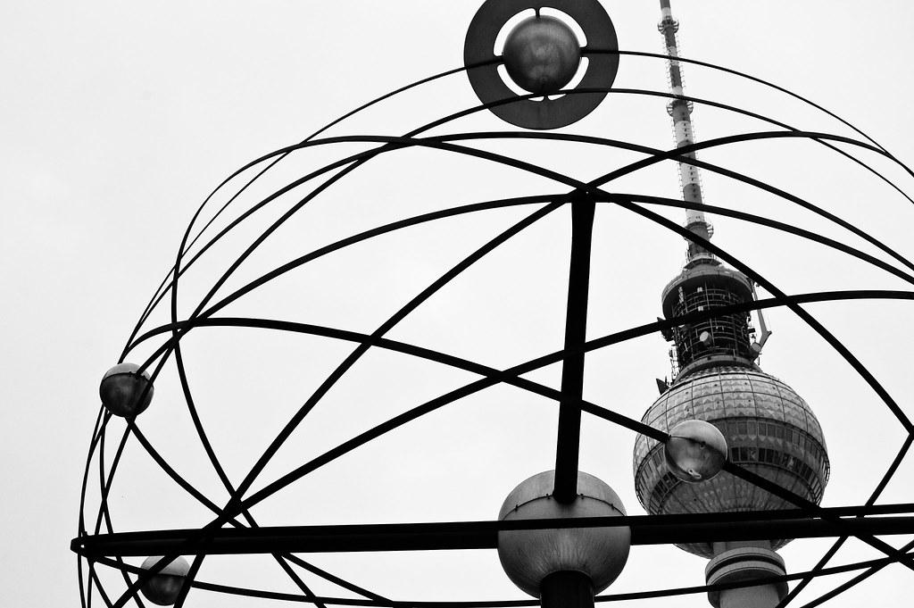The Clock at Alexanderplatz