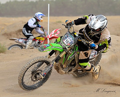 Motor Cross in  Q8 (M. AL-LINGAWI KWS) Tags: sport race cross action towers motor kuwait kws 2010 q8          d700      lingawi
