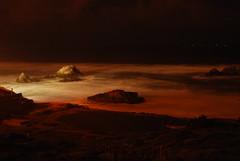(rachfern1) Tags: ocean night san francisco long exposure baths sutro