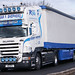 Edgar F Shepherd Scania R620 4x2 unit 3axle curtain V 8 EFS 26 apr 10