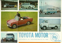 Early export Toyotas