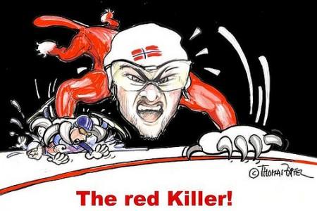 Světoví borci očima karikaturisty