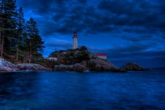 042910 Lighthouse Park 6657 HDR (Kyle Bailey - Da Big Cheeze) Tags: ocean park sunset sea lighthouse inspiration water vancouver clouds canon coast marine hiking professional example inspire vancouverbc hdr highdynamicrange westvancouver critique kylebailey rookiephoto dabigcheeze wwwrookiephotocom