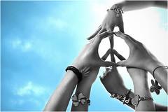 Peace (unraveledwordsx) Tags: love weed peace friendship colorsplash fernandogregory