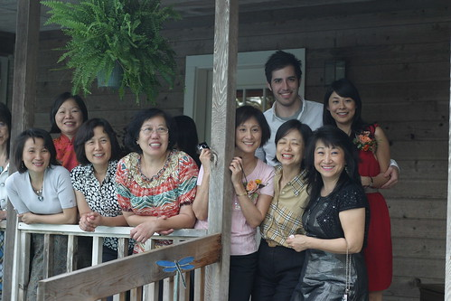 Sharon Kyle & Asian Ladies