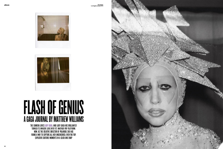 Lady Gaga Polaroid Moments for V Magazine 01