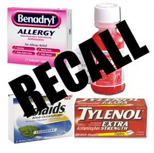 强生子公司McNeil公司宣布召回43种儿童药品