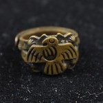 "<b>100.99hf01.1.61_1</b><br/> Brass Ring, Thunderbird and Snake Motifs Un-Provenienced<a href=""//farm5.static.flickr.com/4027/4574575751_ce0cc1d082_o.jpg"" title=""High res"">∝</a>"