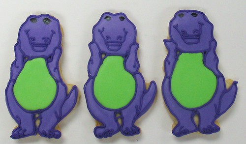 [Image from Flickr]:Barney Cookies