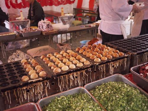 Jumbo takoyaki