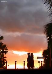 Armageddon (Pascual M.) Tags: espaa sol atardecer panasonic alicante paseo siluetas torrevieja tz7