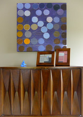 South Wall (Wade Bryant) Tags: art modern radio painting lego furniture paintings 1960s gouache cheap transistor