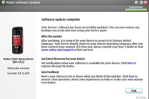 Software Update Complete - 2010-05-06_000650