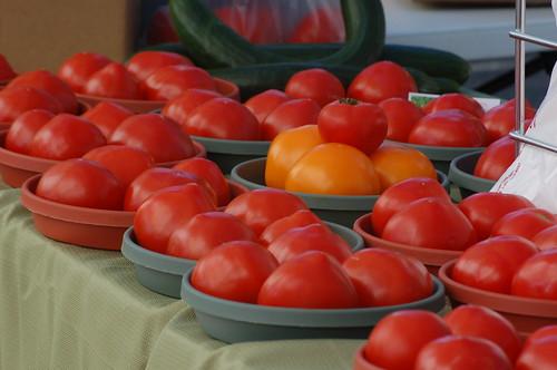 Tomatoes, Memphis Botanic Garden Farmer's Market, Memphis, Tenn.