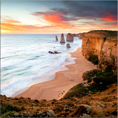 Twelve Things I Love About You (Extra Medium) Tags: sunset clouds australia victoria pacificocean queensland greatoceanroad twelveapostles 12apostles 2010 seastacks bendigo