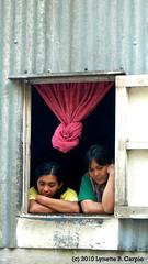 Kankana-ey Women (fillrbunny) Tags: window women kankanaey
