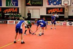 Face-off (malinne) Tags: boys suomi finland children helsinki match regionals floorball mteam salibandy semifinals myllypuro grifk areenacenter