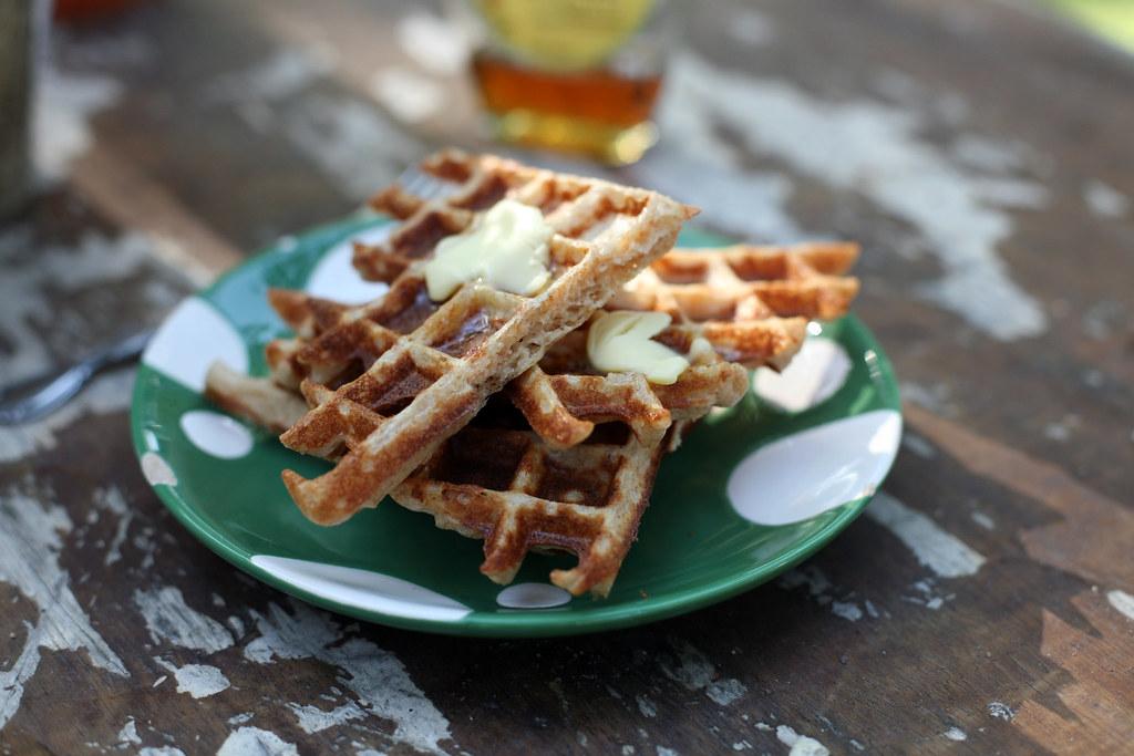 Soaked Waffles