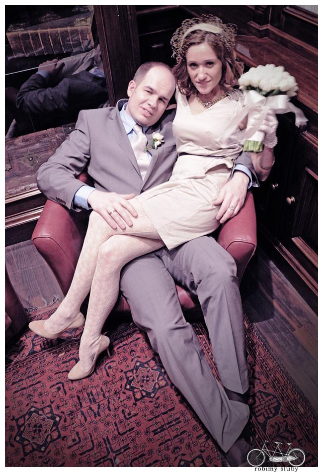 Mariola & Tomek – sesja w dniu ślubu