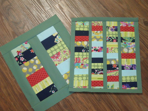 Stacked Mini Coin Quilt Blocks