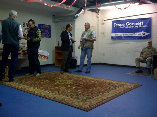 Jesse Cornett election night party