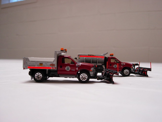 snow ford truck dump plow matchbox bonnell f550 swaploader hooklift crysteel