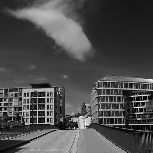 Frankfurt - on a sunny day