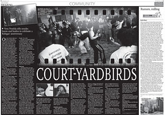 Court-Yardbirds En Global Times, Metro Beijing por felicemcc