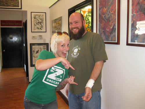 food · New Tattoo · Me and Jessie Hopeless, Exile Tattoo, Kansas City
