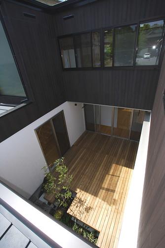 長期優良住宅 健康住宅のドクトルハウス 『明大寺』 中庭3