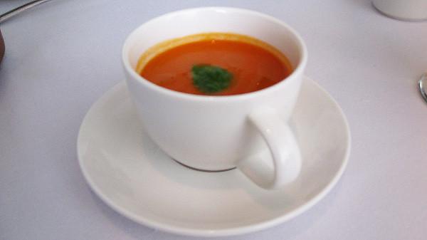 Lunch: Gazpacho