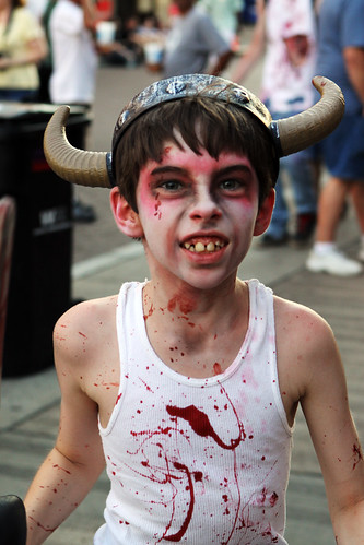 viking zombie kid