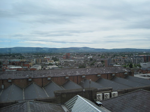360-degree view of Dublin from the Gravity Bar in the Guiness Storehouse