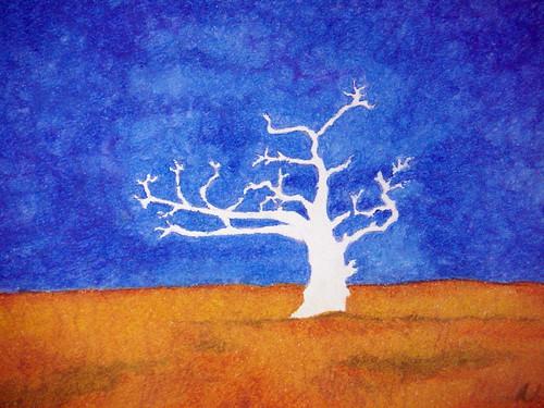 Einöde ohne Baum
