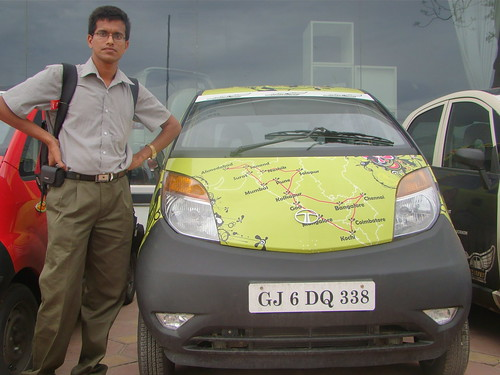 Shrinidhi Hande with green route Nano