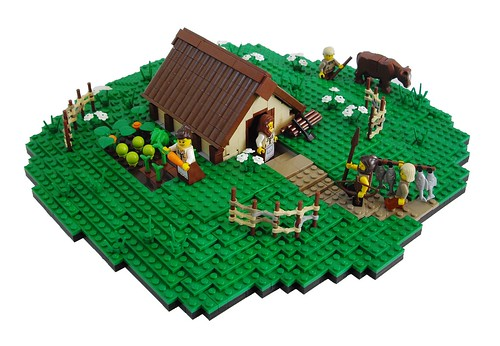 How To Make A Roman Villa Out Of Lego