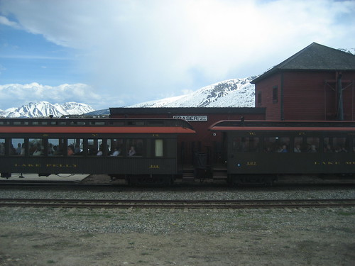 white pass yukon train