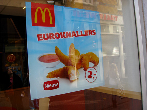 Euroknallers at McDonalds