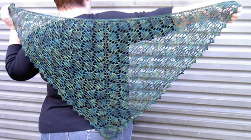 Shawl number 7 - for Tash