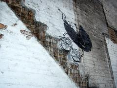 Banksy in Chicago (Barrybu) Tags: street chicago art banksy crib battleship potemkin untouchables