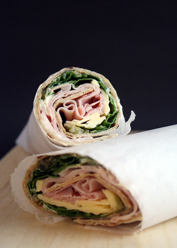 Gluten Free Scallywag_Wrap Ham N Greens_Cut
