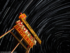 The stars of Route 66 (Dave Arnold Photo) Tags: road longexposure nightphotography travel usa newmexico southwest west ford abandoned sign night vintage stars star us photo route66 highway ruins image picture 666 motel pic images 66 gas gasstation chevy photograph american astrophotography getty hotrod shooting nightsky grocery roadsideattraction nm groceries southwestus startrails motelsign shootingstar rt66 motherroad startrail highway66 westernus davearnold sanfidel rte66 greatimage whitingbros canonequipment cibolacounty vintagemotel canonphotographer whitingbrothers nmex vintagegassign davearnoldphotocom arnoldd