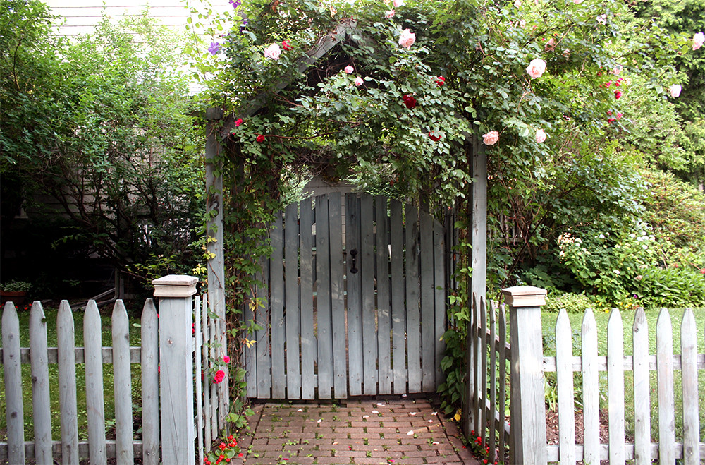 a lovely entryway