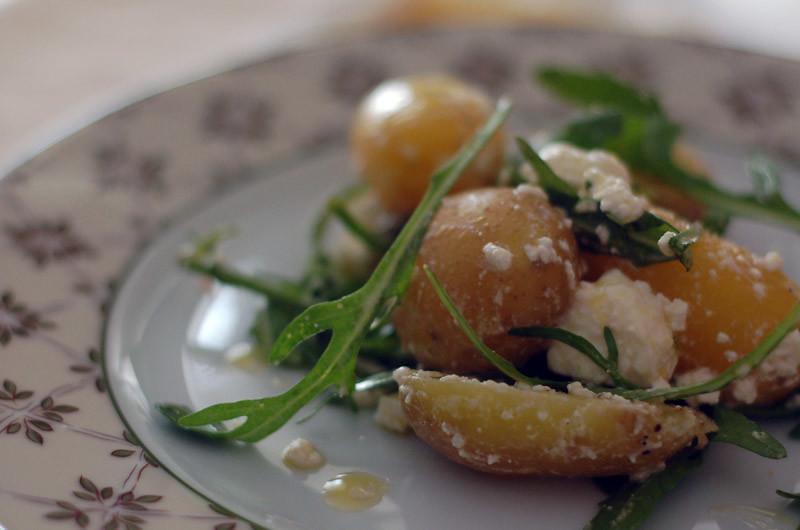 Warm Potato Salad // Salada Morna de Batata