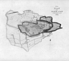 Blair Adam estate, Kinross-shire Plans