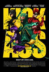 """2010最佳喜劇電影海報 - KICK-ASS """"Lenticular Poster"""""""