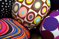 Psychedelic Cushions (Lorenzo X) Tags: market feria feira mercato marché cushions almofadas coussins cuscini