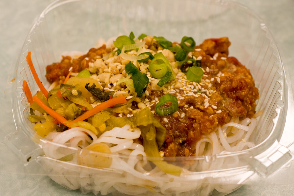 Shan noodles with chicken, Burmese Food Fair