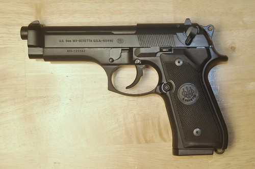 Beretta M9 9mm Semi-Auto Military
